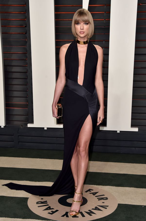 At the 2016 Vanity Fair Oscars party on Feb. 28, 2016, in Beverly Hills.