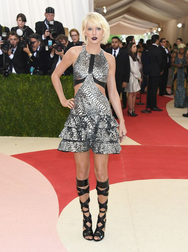 At the Met Gala on May 2, 2016, in New York City.