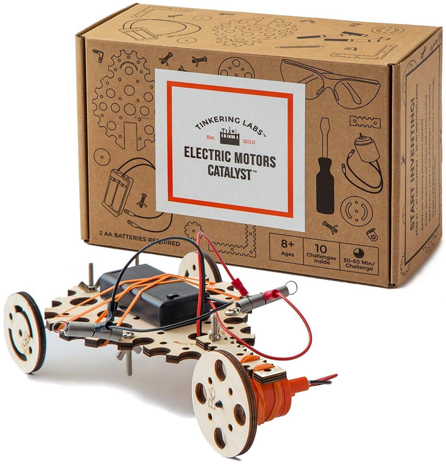 "The possibilities are endless with this <a href=""https://www.amazon.com/Tinkering-Labs-Electric-Motors-Catalyst/dp/B01M5GJFQ1"