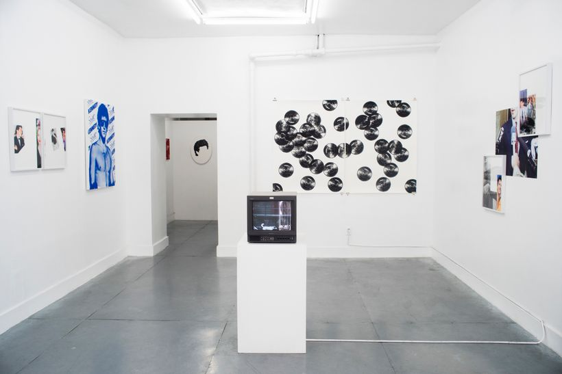 Install shot from Pacifico Silano's <em>John John</em> at Rubber Factory.