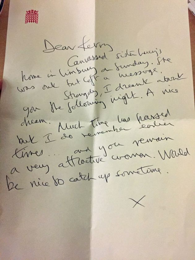 McCarthy was described in this letter as a 'very attractive