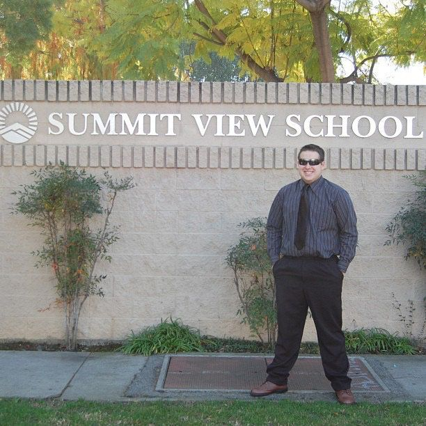 Mark Nelson attended Summit View High School for his junior and senior years after settling a lawsuit with Monrovia Unified S