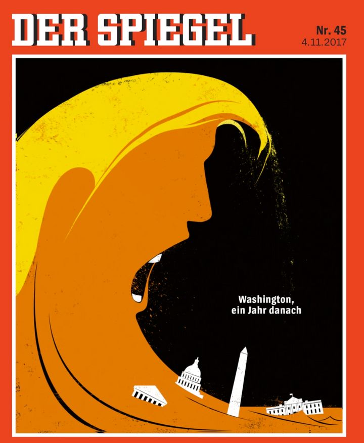 "Figure 2: Reflexive Modernity seen through the German weekly Der Spiegel (""Washington, one year later"")"