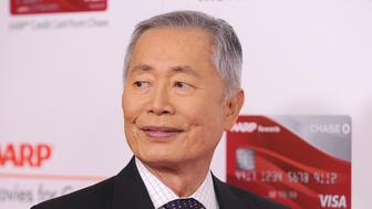 BEVERLY HILLS, CA - FEBRUARY 06:  Actor George Takei attends AARP's 16th annual Movies For Grownups Awards at the Beverly Wilshire Four Seasons Hotel on February 6, 2017 in Beverly Hills, California.  (Photo by Jason LaVeris/FilmMagic)