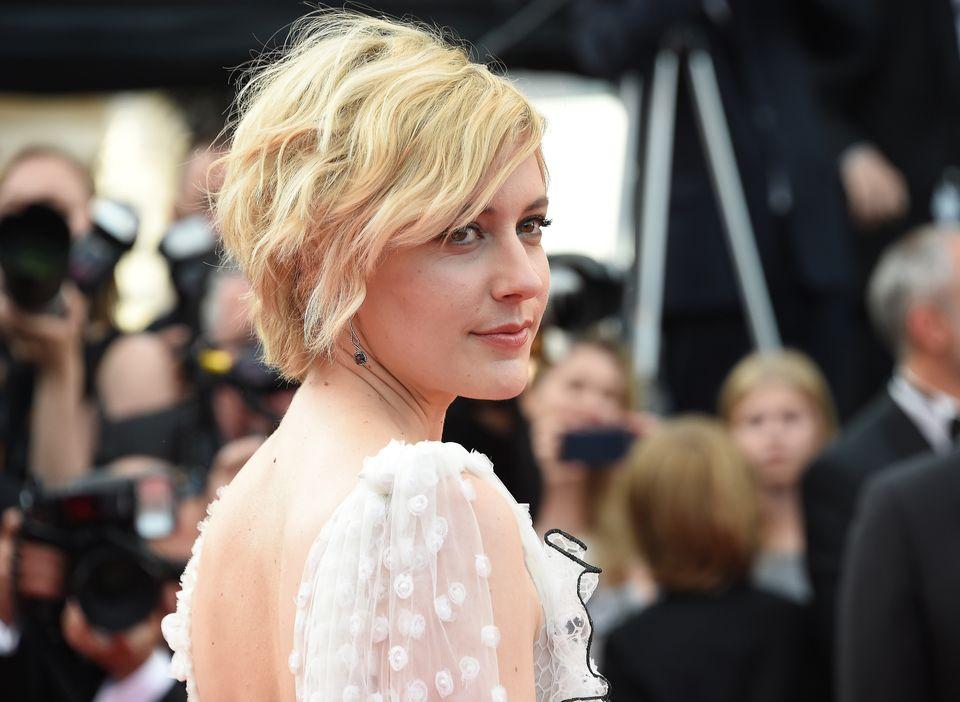 Greta Gerwig, no Festival de Cannes, em