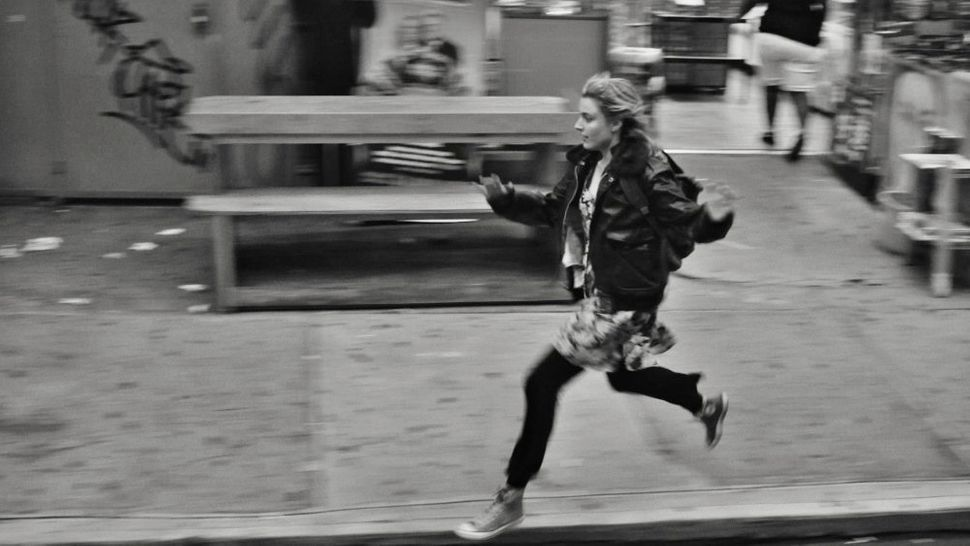 "Greta Gerwig in ""Frances Ha."""