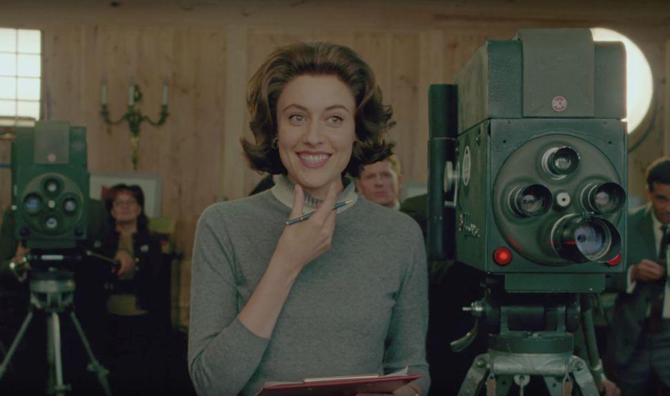 """Greta Gerwig in """"Jackie."""""""
