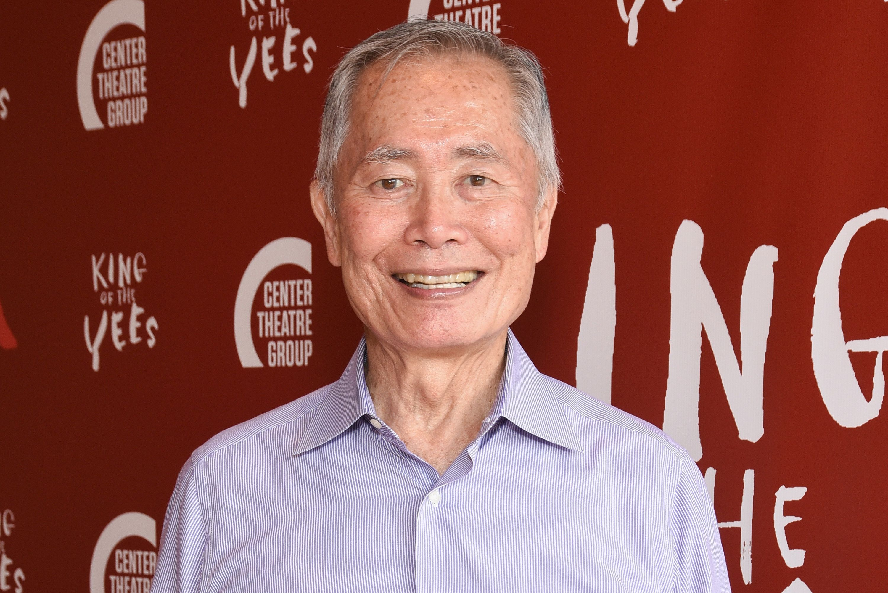 CULVER CITY, CA - JULY 16:  George Takei attends opening night of 'King Of The Yees' at Kirk Douglas Theatre on July 16, 2017 in Culver City, California.  (Photo by Tara Ziemba/FilmMagic)
