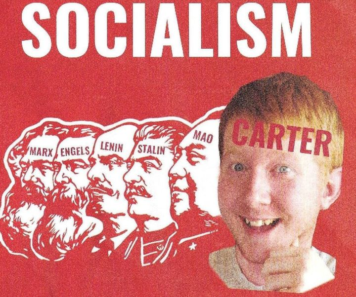 Lee Carter's opponent, Del. Jackson Miller, attacked Carter for his membership in the Democratic Socialists of America. Voter