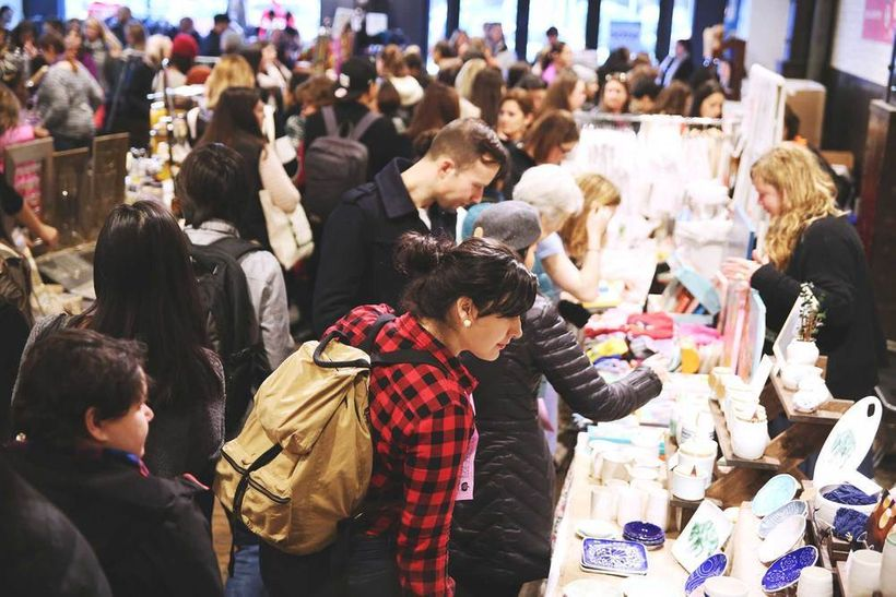 Shop till you drop at one of New York's Holiday Markets.
