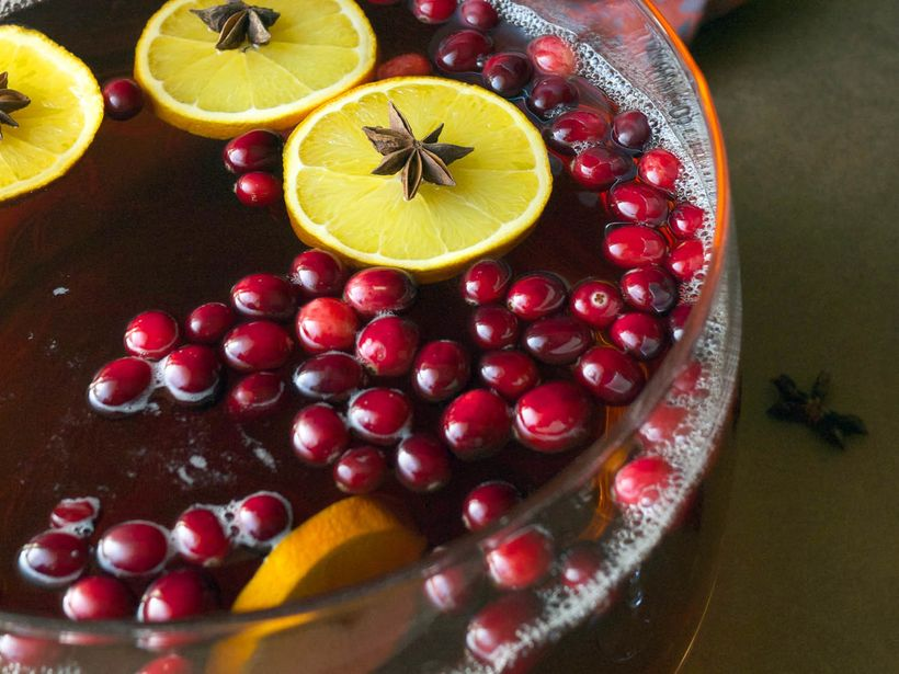 Thanksgiiving Cranberry Punch