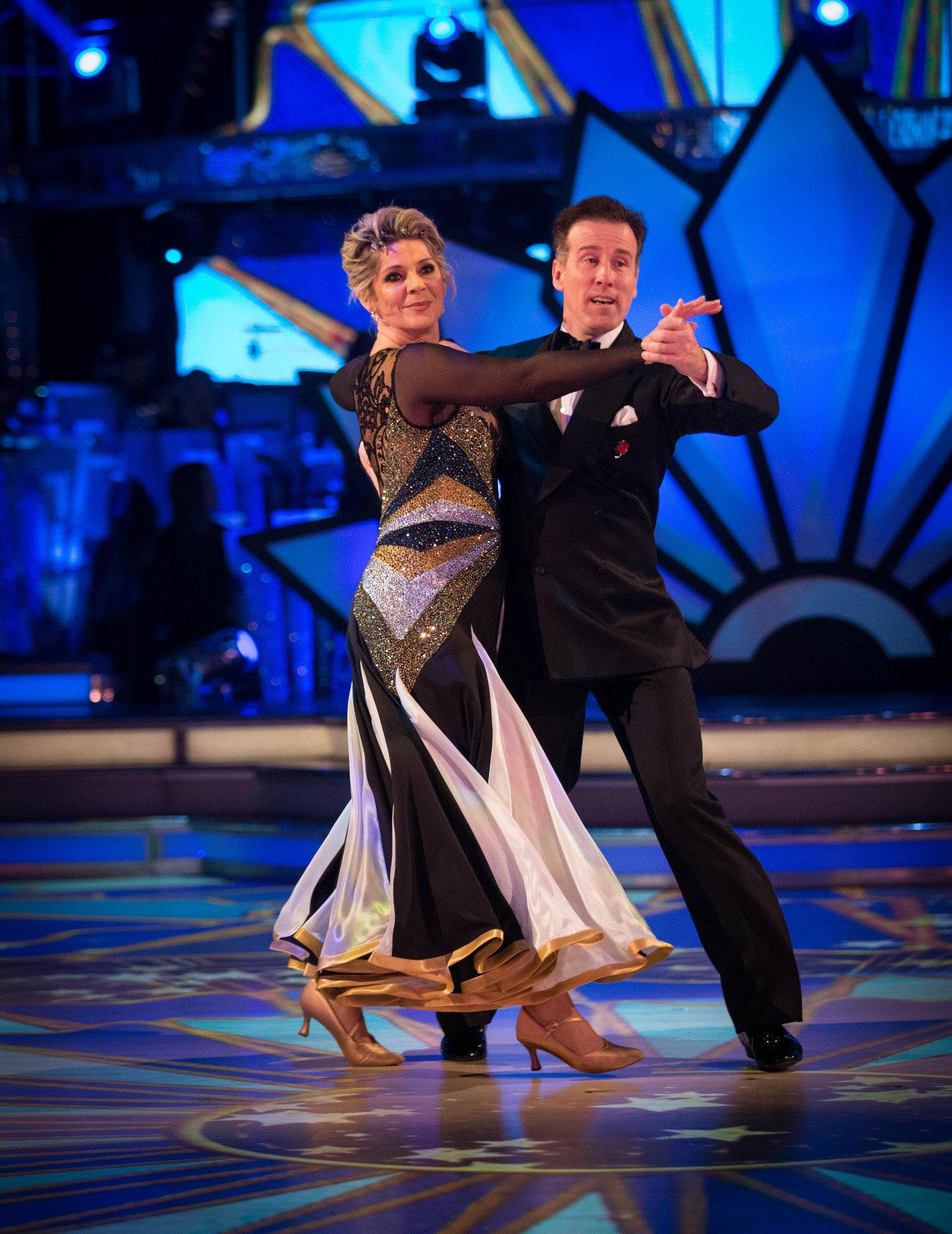 Ruth and Anton Du Beke were eliminated on Sunday