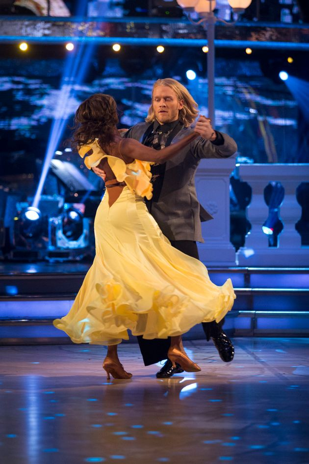 All four judges opted to save Jonnie Peacock and Oti Mabuse from