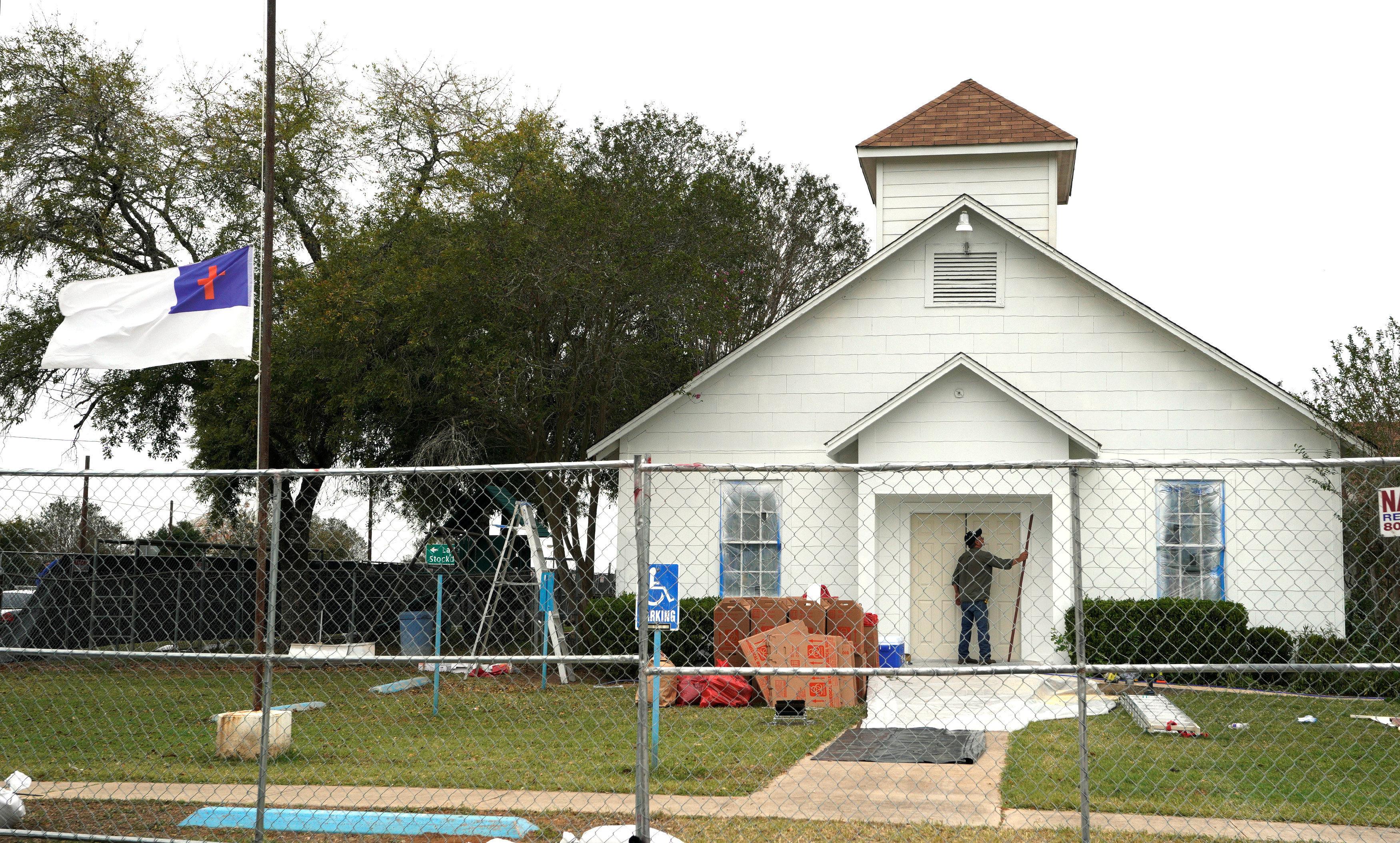 'My Heart Breaks': Tearful Worshippers Reunite A Week After Texas Church
