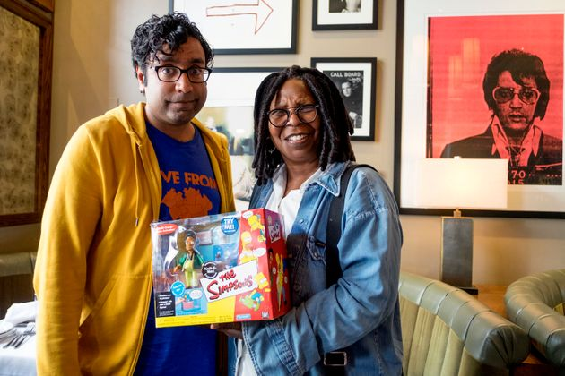 Hari Kondabolu also spoke wth actress Whoopi Goldberg about Hollywood's use of caricatures and blackface...