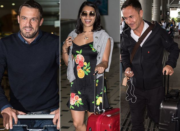 Jamie Lomas, Vanessa White and Dennis Wise are all Down Under