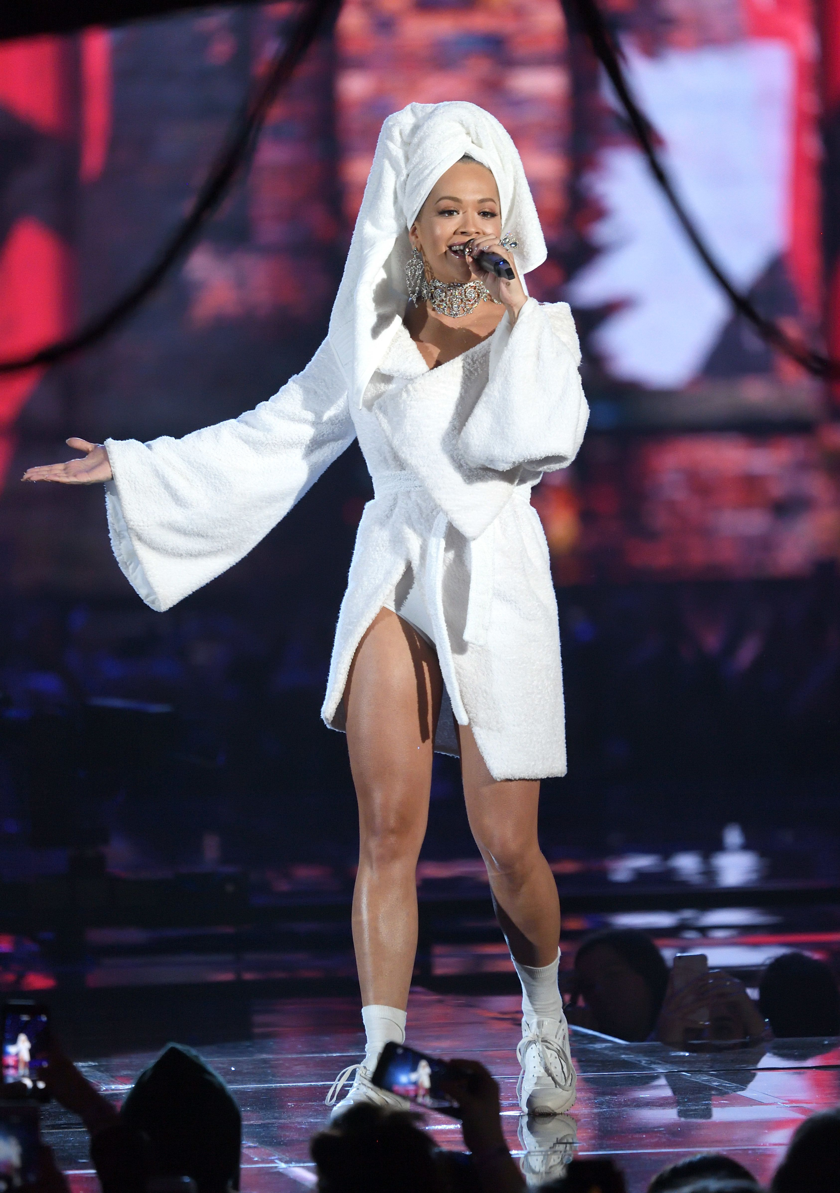 Rita Ora's First Look For The MTV EMA Awards Is Proof You Can Rock The World In