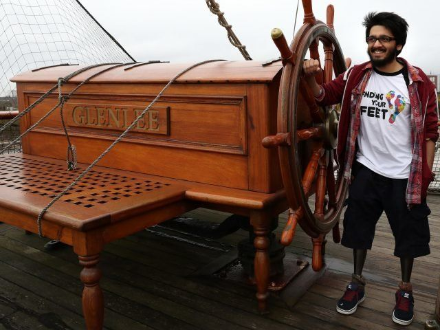 Double Amputee Who Feared He'd Never Walk Again Prepares For Sailing