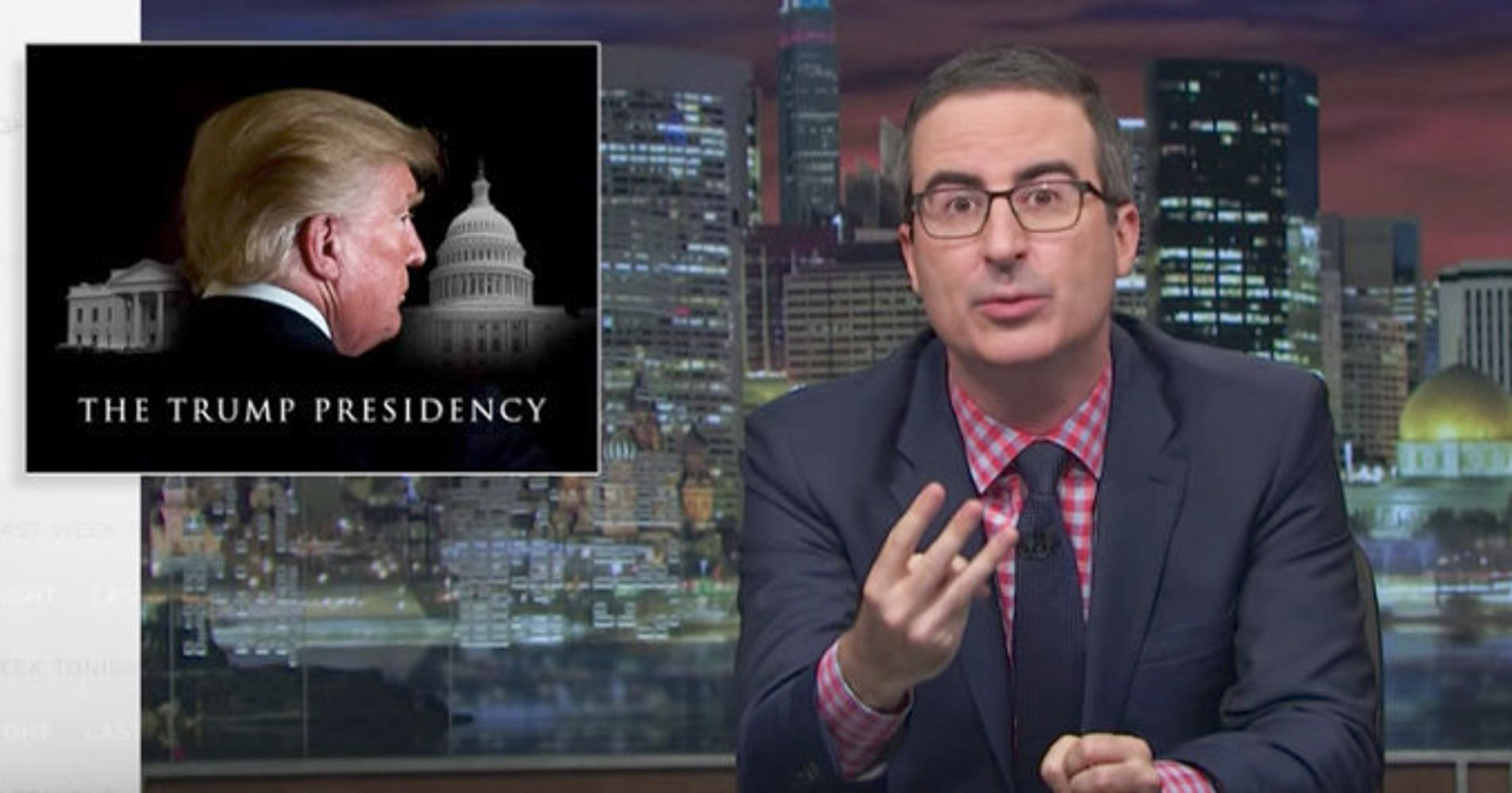 John Oliver Lays Out The Most Disturbing Ways In Which Trump Impacts America
