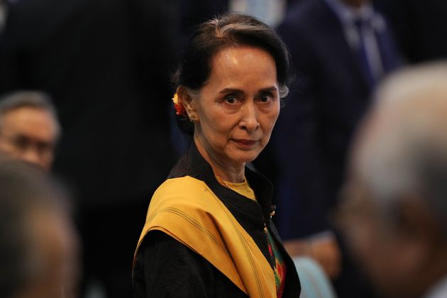 Myanmar leader Aung San Suu Kyi has been heavily criticised over her failure to respond to the 'ethnic...