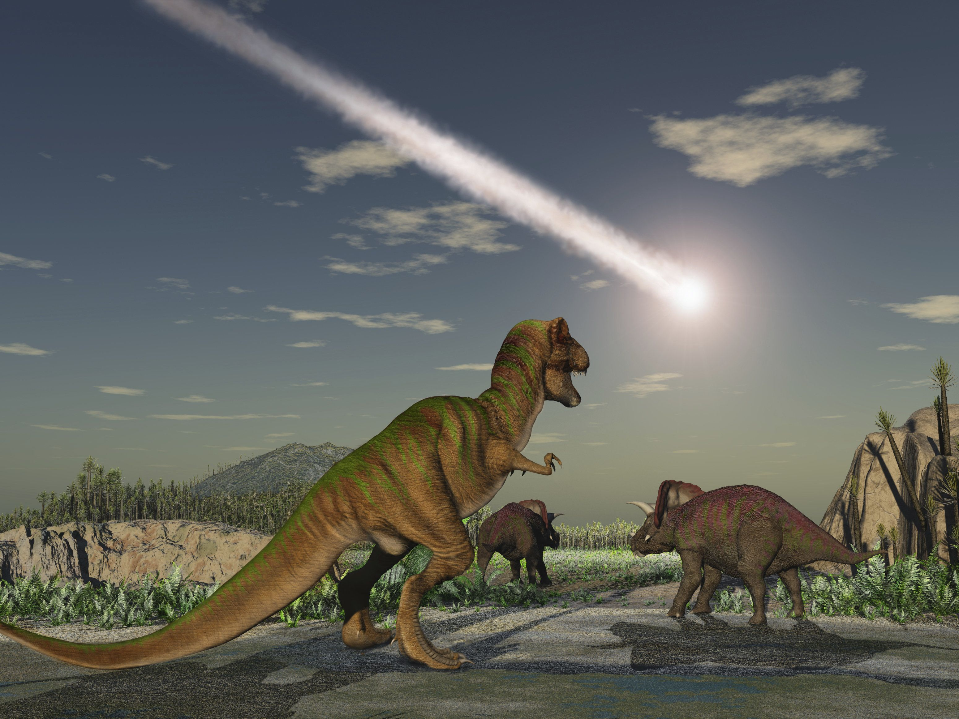 Dinosaurs Could Have Avoided Extinction If The Asteroid Had Landed Anywhere Else On