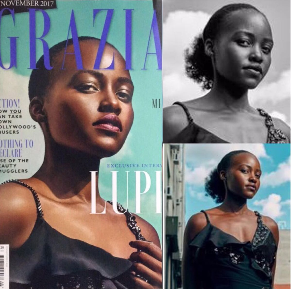 Photographer An Le Responds To Lupita Nyong'o's Criticism Of His Grazia