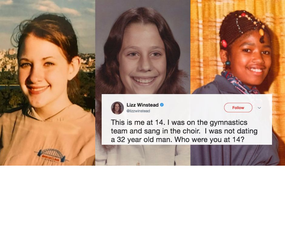People Share Photos Of Themselves At 14 To Condemn Roy Moore And ...