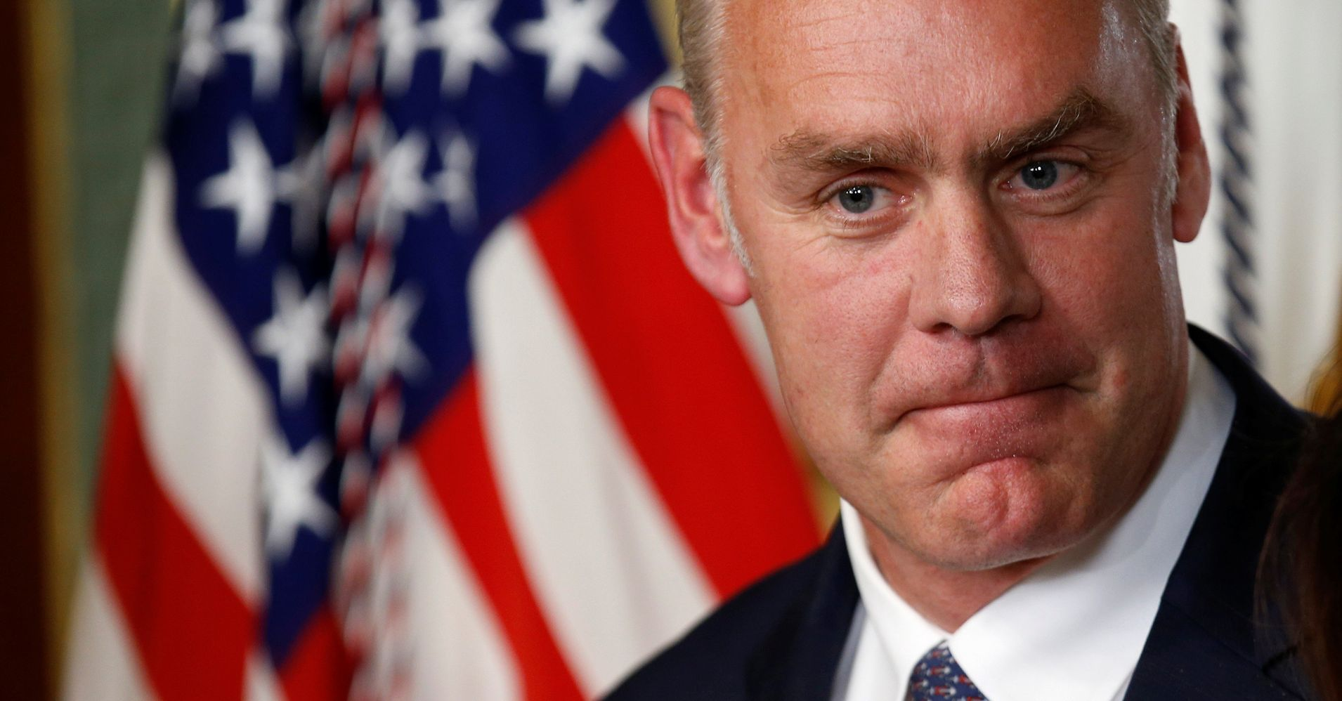 Interior Decorator: Zinke's Push To Redesign Flags And Accessorize With Dead Animals