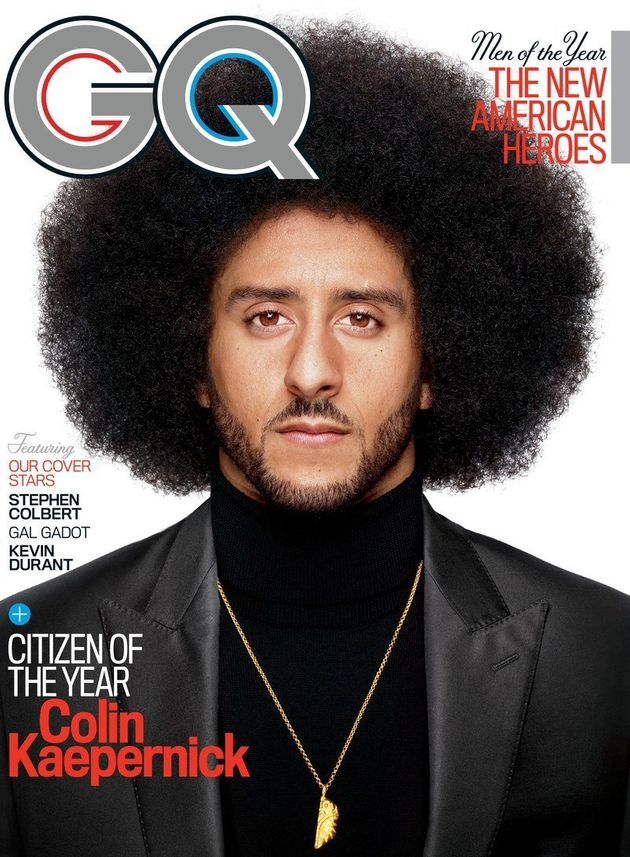 Colin Kaepernick Covers GQ As 'Citizen Of The
