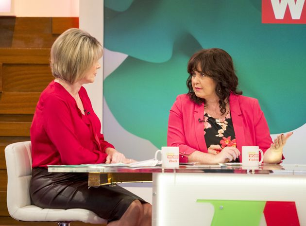 Coleen Nolan laid into the 'Strictly Come Dancing' judges on 'Loose