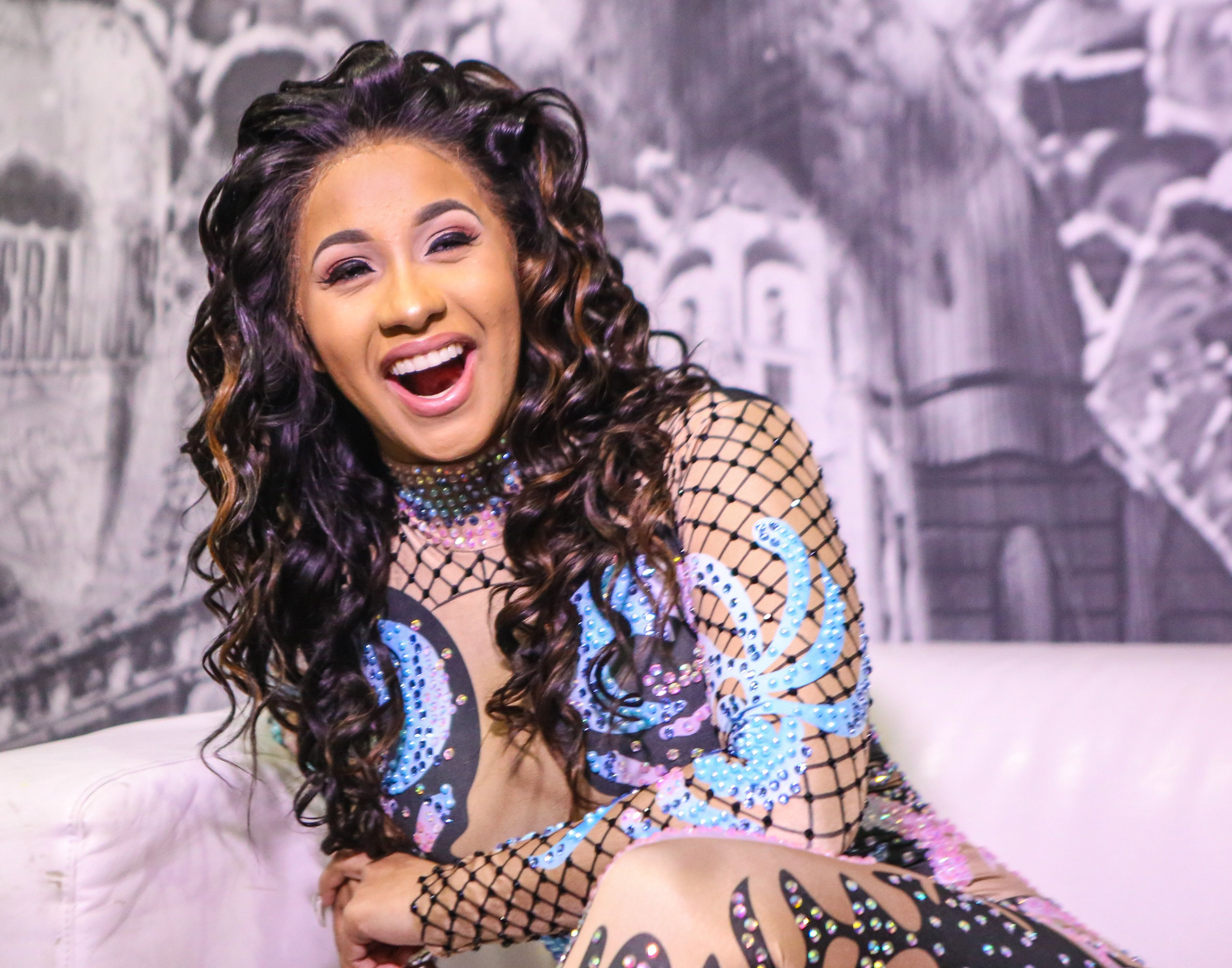 Cardi B Will Have A Red Wedding And We're Not Surprised
