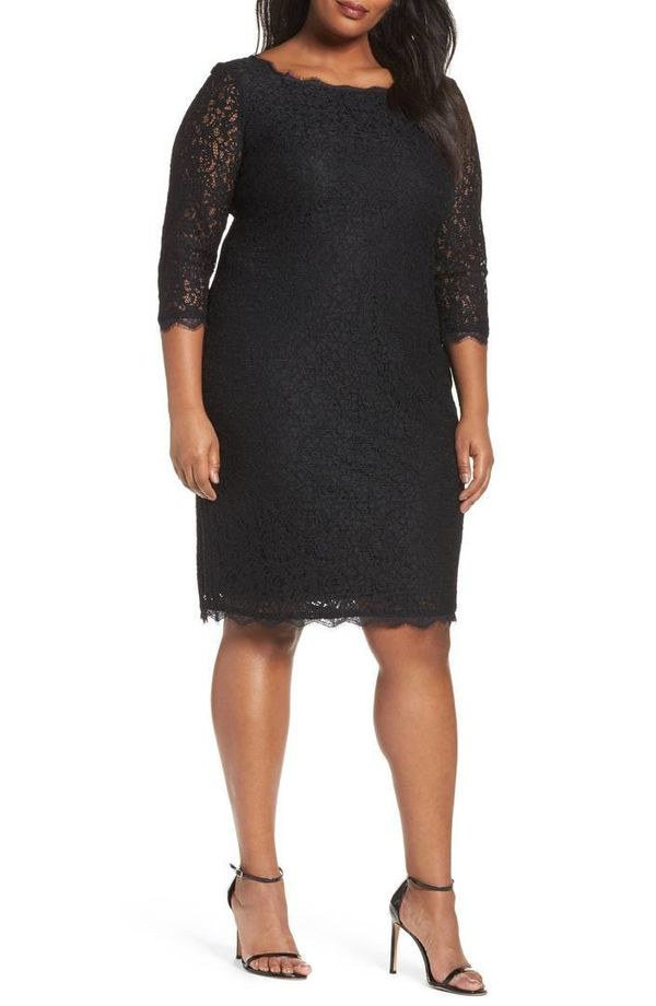 """From <a href=""""https://shop.nordstrom.com/s/adrianna-papell-lace-overlay-sheath-dress-plus-size/3296668?origin=category-person"""
