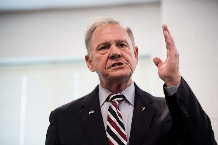 GOP candidate for U.S. Senate Roy Moore.