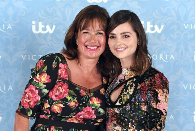Daisy Goodwin and 'Victoria' star Jenna