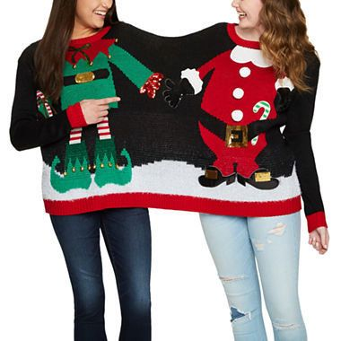 "Get this two person sweater <a href=""https://www.jcpenney.com/p/two-person-ugly-christmas-sweater-juniors/ppr5007283456?pTmpl"