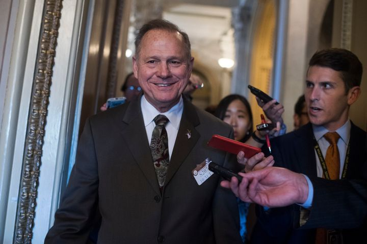 Roy Moore,whois slated to face Democrat Doug Jones in aDec. 12special election to fill the Senate sea