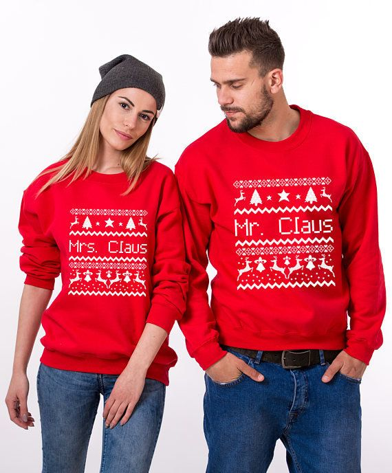 "Get the set <a href=""https://www.etsy.com/listing/554547364/ugly-christmas-sweaters-for-couples-ugly?ga_order=most_relevant&a"