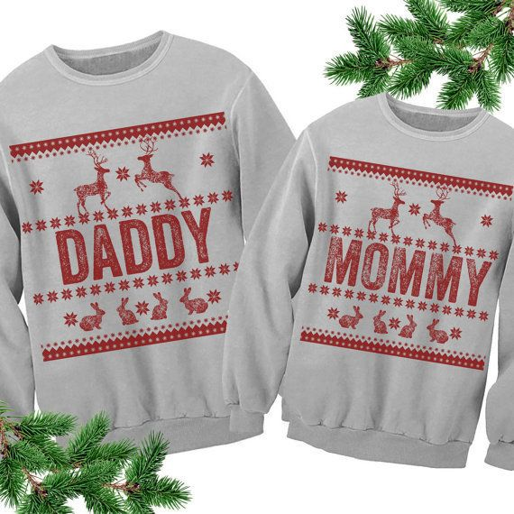 "Get the set <a href=""https://www.etsy.com/listing/478096641/daddy-mommy-matching-sweaters-unisex?ga_order=most_relevant&g"