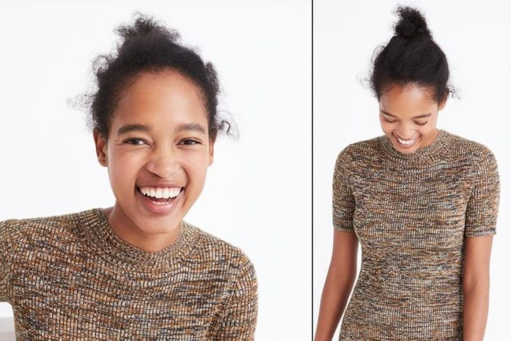 Outstanding J Crew Responds To Critics Calling The Brand Out For Irresponsibly Natural Hairstyles Runnerswayorg
