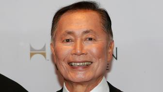 Actor George Takei the attends 25th Annual GLAAD Media Awards at the Waldorf Astoria in New York, May 3, 2014.  REUTERS/Eduardo Munoz (UNITED STATES - Tags: ENTERTAINMENT)