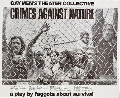 Poster art for 1977's <strong><em>Crimes Against Nature</em></strong>