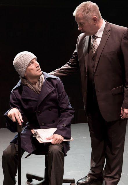 Jeremy Cole (Felix Turner) and Robert Zelenka (Ben Weeks) in a scene from <strong><em>The Normal Heart</em></strong>