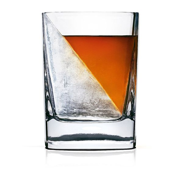"""<a href=""""https://www.uncommongoods.com/product/whiskey-wedge"""" target=""""_blank"""">Buy it here</a> for $17.95."""