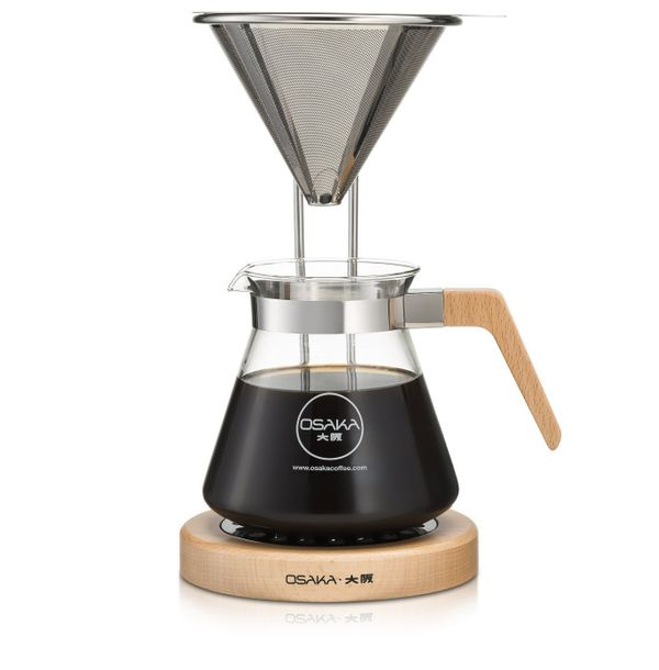 """<a href=""""https://www.amazon.com/Osaka-Wood-Pour-Over-Coffee-Station/dp/B01LYOD6WE?tag=thehuffingtop-20"""" target=""""_blank"""">Buy i"""