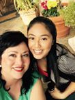 Shirley Cortez and Nina Gosiengfiao, actresses in<em> Out of Bounds</em>