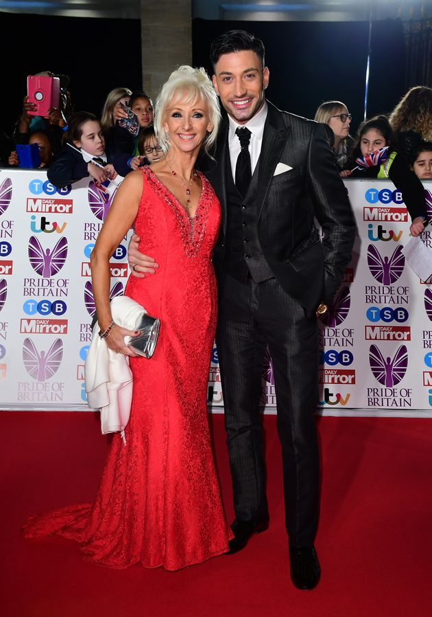 Debbie McGee and Giovanni