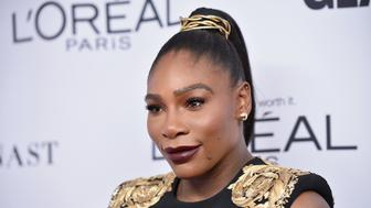 BROOKLYN, NY - NOVEMBER 13:  Serena Williams attends Glamour's 2017 Women of The Year Awards at Kings Theatre on November 13, 2017 in Brooklyn, New York.  (Photo by Bryan Bedder/Getty Images for Glamour)