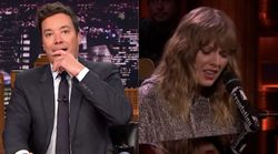 The Heartbreaking Reason Jimmy Fallon Cried Over This Taylor Swift