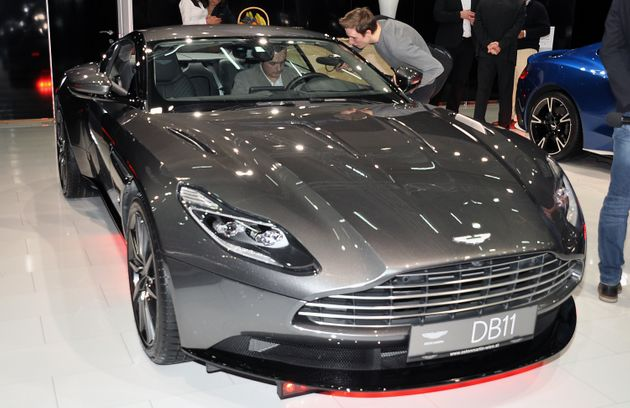A no-deal Brexit 'could see Aston Martin stop auto production'