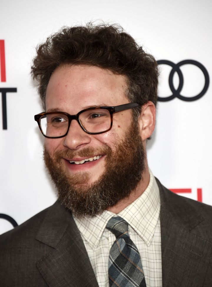 """They should call Rogen """"The Makeup Artist."""""""